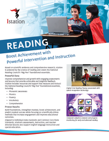NEW Istation Reading Brochure - 6 Pages (Pack of 50)