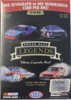 2012 Press Pass Legends Nascar (Blaster) Racing