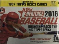 2016 Topps Heritage (Blaster) Baseball