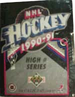 1990-91 Upper Deck HI Set (Factory) Hockey