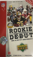2006 Upper Deck Rookie Debut (Blaster) Football