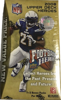 2008 Upper Deck Heroes (Blaster) Football