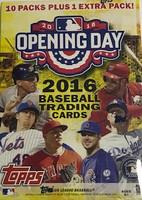 2016 Topps Opening Day (Blaster) Baseball