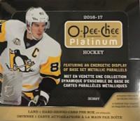 2016-17 Upper Deck O Pee Chee Platinum (Hobby) Hockey