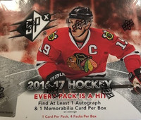 2016-17 Upper Deck SPX (Hobby) Hockey