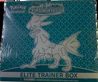 Sun & Moon SM4 Crimson Invasion Elite Trainer Box Pokemon