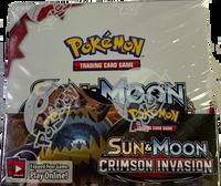 Sun & Moon SM4 Crimson Invasion Booster Box Pokemon