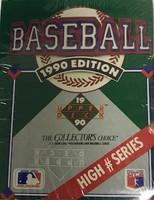 1989 UD Factory Hi Series Set (100 Cards) Baseball