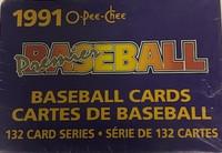 1991 OPC Premier Factory Set (132 Cards) Baseball