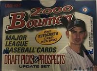 2000 Bowman Draft Picks & Prospects Set (110 Cards) Baseball