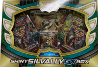 Shiny Silvally-GX Box Pokemon