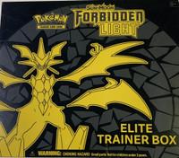 Sun & Moon SM6 Forbidden Light Trainer Box Pokemon