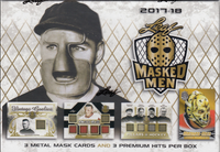 2017-18 Leaf Masked Men (Hobby) Hockey