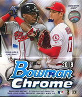 2018 Bowman Chrome (Hobby) Baseball