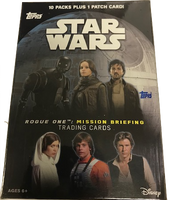 2016 Topps Star Wars Rogue One: Mission Briefing (Blaster) Entertainment Cards