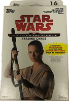2017 Topps Star Wars Journey to the Last Jedi (Hanger Box) Walmart Exclusive