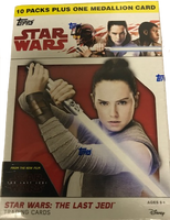 2017 Topps Star Wars The Last Jedi (Blaster) Entertainment Cards