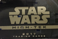 2017 Topps Star Wars High Tek (Hobby) Entertainent Cards