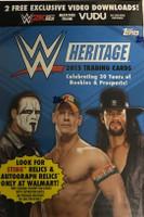 2015 Topps WWE Heritage Wrestling (Blaster) Walmart Exclusive