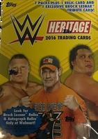 2016 Topps WWE Heritage Wrestling (Blaster) Walmart Exclusive