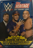 2017 Topps WWE Heritage Wrestling (Blaster) Walmart Exclusive