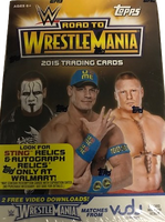 2015 Topps WWE Road to Wrestlemania Wrestling (Blaster) Walmart Exclusive