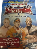 2016 Topps WWE Road to Wrestlemania Wrestling (Blaster) Walmart Exclusive