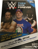 2017 Topps WWE Then Now Forever Wrestling (Blaster)
