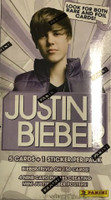 2010 Panini Justin Bieber (Blaster) Entertainment Cards