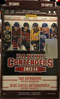 2013-14 Panini Contenders (Blaster) Hockey