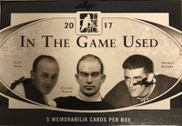 2016-17 Leaf In The Game Used (Hobby) Hockey