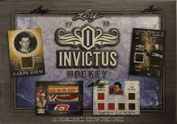 2017-18 Leaf Invictus (Hobby) Hockey