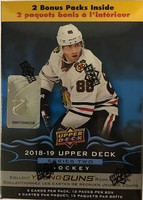 2018-19 Upper Deck Series 2 (Blaster) Hockey