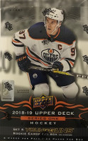2018-19 Upper Deck Series 1 (Hobby) Hockey