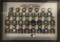 2018 Coors Light MLB Commemorative Ring Set and Display Case