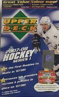 2007-08 Upper Deck Series 1 (Blaster) Hockey