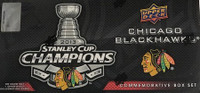 2012-13 Upper Deck Chicago Black Hawks Stanley Cup Champs Set Hockey