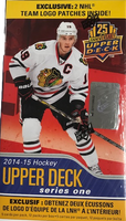 2014-15 Upper Deck Series 1 TEAM LOGO (Blaster) Hockey