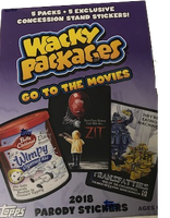 2018 Topps Wacky Packages Go To The Movies (Blaster)