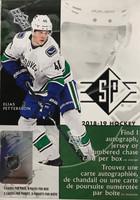 2018-19 Upper Deck SP (Blaster) Hockey