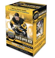 2019-20 Upper Deck Series 1 (Blaster) Hockey