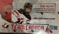 2019-20 Upper Deck Team Canada Juniors Hockey