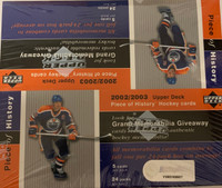 2002-03 Upper Deck Piece of History (Retail) Hockey