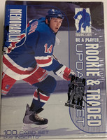 1999-00 Be A Player Memorabilia Update Set Blue (Hobby) Hockey