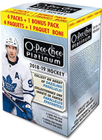 2018-19 Upper Deck O Pee Chee Platinum (Blaster) Hockey