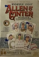 2017 Topps Allen & Gunter (Blaster) Baseball