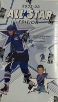 2002-03 Be A Player All Stars w/Bobble Head Hockey