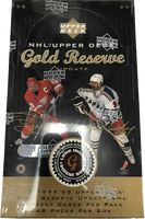 1998-99 Upper Deck Gold Reserve Update Hockey