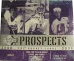 2000-01 Upper Deck CHL Prospects Game Used Hockey