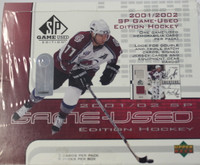 2001-02 Upper Deck SP Game Used Hockey
